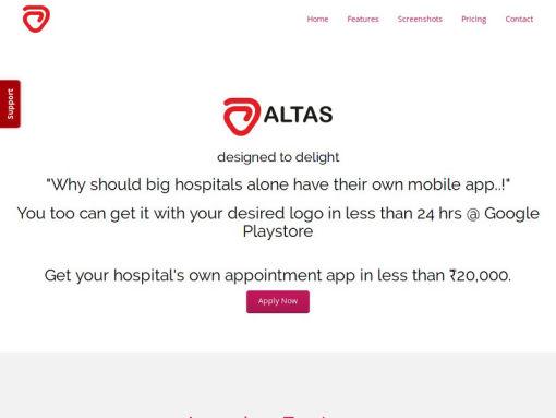 altas hospital mobile app